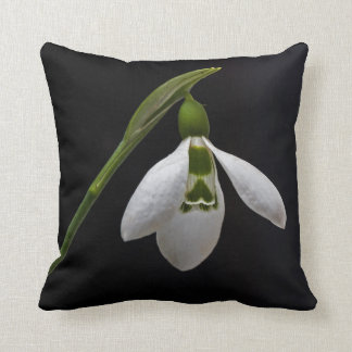 Flower pillow - Snowdrop and Perce neige