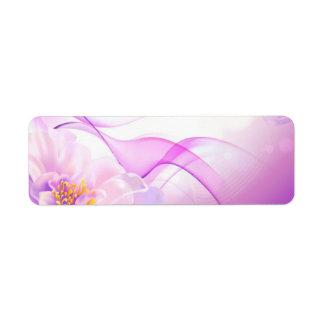 Flower-Pink-Background-Vector-Art DIGITAL REALISM Label