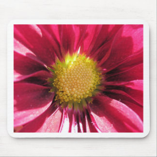 flower pink mouse pad