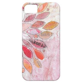 Flower Pink Power iPhone SE/5/5s Case