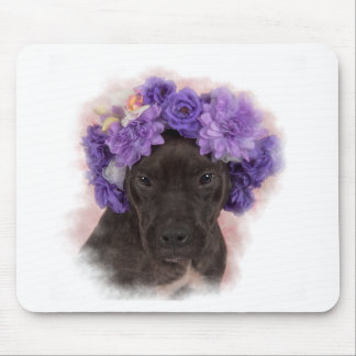 Flower Pitty Mouse Pad