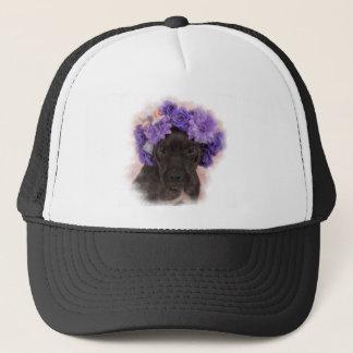 Flower Pitty Trucker Hat