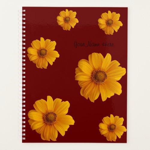 Flower Planner NoteBook