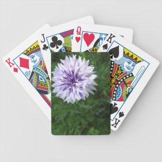 flower bicycle poker cards
