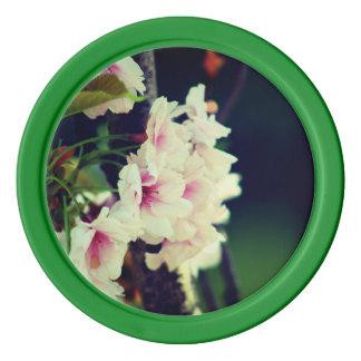 Flower Poker Chip Set