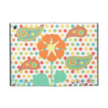 Flower Polka Dots Paisley Spring Whimsical Gifts iPad Mini Cases