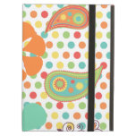 Flower Polka Dots Paisley Spring Whimsical Gifts iPad Cases