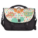 Flower Polka Dots Paisley Spring Whimsical Gifts Laptop Bag