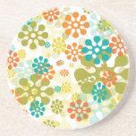 Flower Pop Beverage Coaster