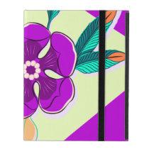 Flower Pop in Violet iPad Case