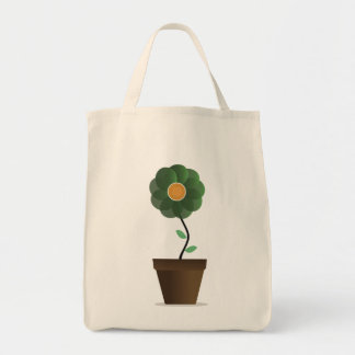 flower pot 2 tote bag