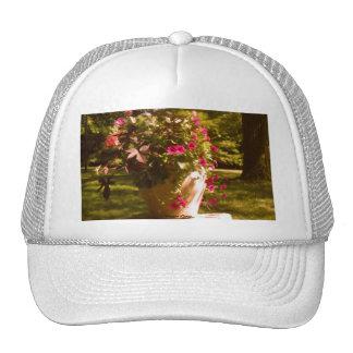 Flower Pot Arrangement Hat