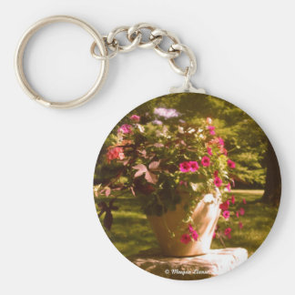 Flower Pot Arrangement Keychain