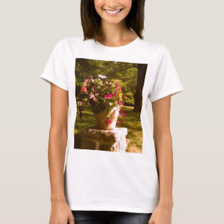 Flower Pot Arrangement Ladies Baby Doll (Fitted) T-Shirt