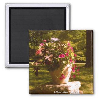Flower Pot Arrangement Magnet