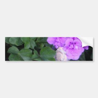 Flower Pot Bumper Sticker