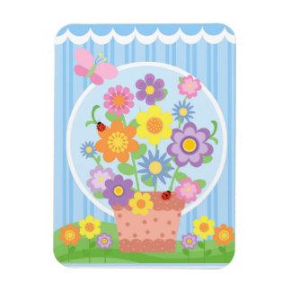 Flower Pot Magnet