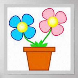 Flower Pot Small Print
