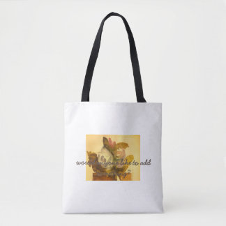 flower-pot tote bag