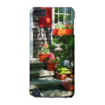 Flower Pots and Red Shutters iPod Touch (5th Generation) Cases