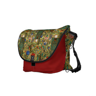 Flower Power ~ 15th Century Style Courier Bag