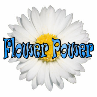 Flower Power 1 Keychain