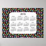 Flower Power 2015 Wall Calendar by Janz Print