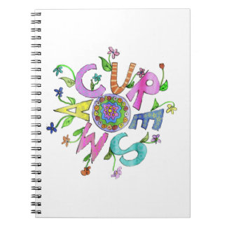 Flower power 2 de la curación SMA Libros De Apuntes Con Espiral