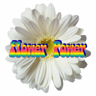 Flower Power 2 Keychain