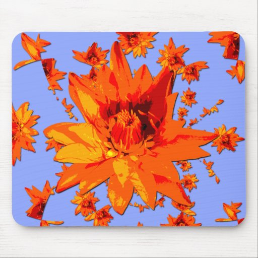 Flower Power #4 Mouse Pads