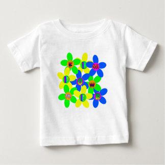 Flower Power 60s-70s 2 Baby T-Shirt