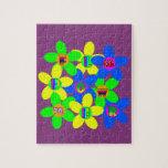 Flower Power 60s-70s 2 Jigsaw Puzzles