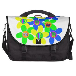 Flower Power 60s-70s 2 Laptop Bags