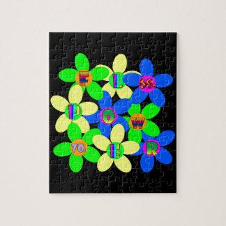 Flower Power 60s-70s Jigsaw Puzzles