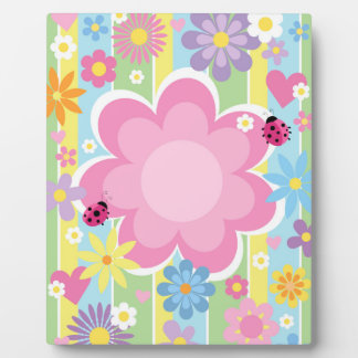 Flower Power 8 x 10 With Easel Plaque