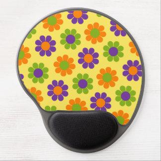 Flower power adaptable alfombrilla de raton con gel