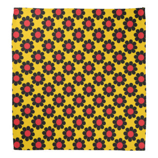 Flower power adaptable bandana