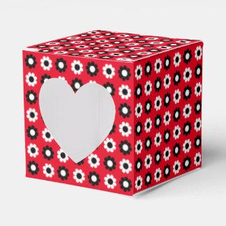 Flower power adaptable caja para regalo de boda