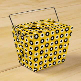 Flower power adaptable cajas para regalos de fiestas