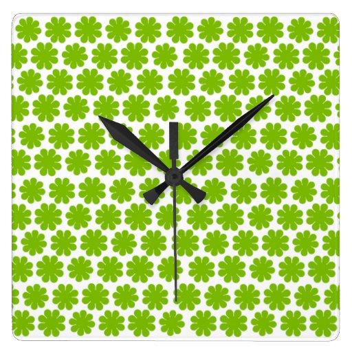 Flower power adaptable de la MOD Reloj Cuadrado