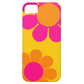 Flower power adaptable del estallido iPhone 5 Case-Mate protectores