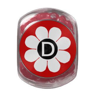 Flower power adaptable del estallido jarras de cristal