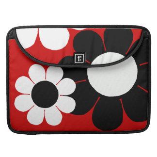 Flower power adaptable del estallido funda para macbooks