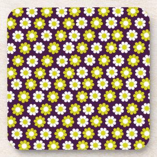 Flower power adaptable del estallido posavasos de bebida