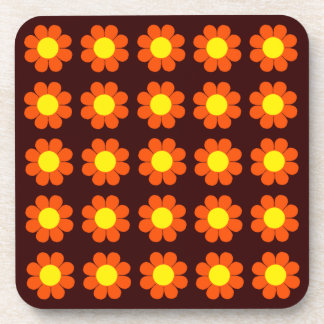 Flower power adaptable del estallido posavasos