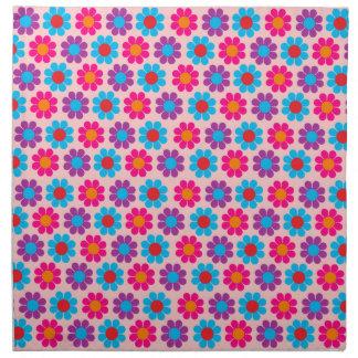 Flower power adaptable del estallido servilleta de papel