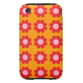 Flower power adaptable tough iPhone 3 protector