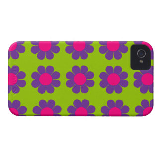 Flower power adaptable Case-Mate iPhone 4 fundas