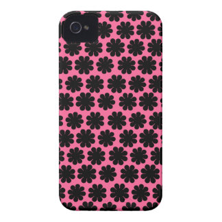 Flower power adaptable iPhone 4 Case-Mate fundas