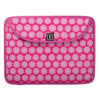 Flower power adaptable funda macbook pro